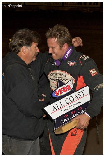 Mike Spencer and Harlan Willis Celebrate in Ventura